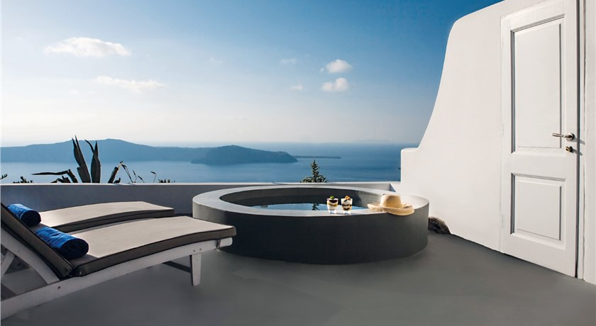 Remezzo Villas, Hotels in Imerovigli, Greece - Santorini View