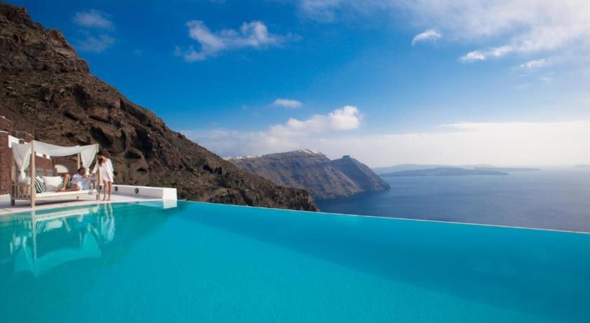 San Antonio, Hotels in Imerovigli, Greece - Santorini View