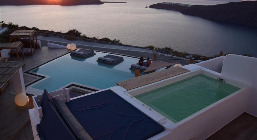 Santorini's Balcony Art Houses, Hotels in Imerovigli, Greece - Santorini View