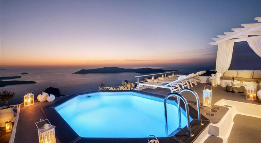 Thea Apartments, Hotels in Imerovigli Caldera - Santorini View