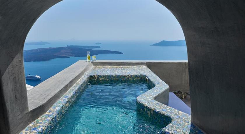 Ventus Paradiso Villa, Hotels in Imerovigli, Greece - Santorini View