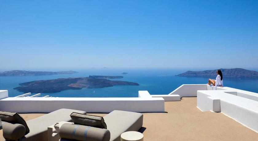 Villa Estelle, Hotel in Imerovigli, Greece - Santorini View