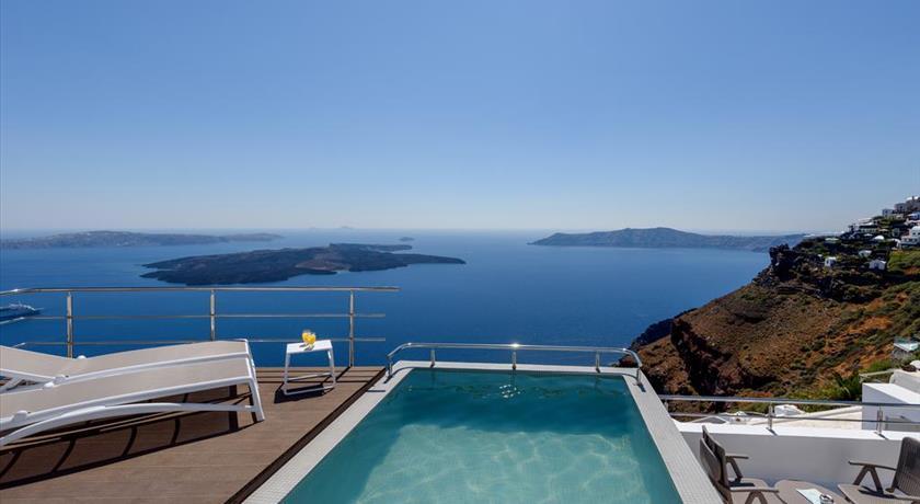 Vinsanto Villas, Hotels in Imerovigli Caldera - Santorini View