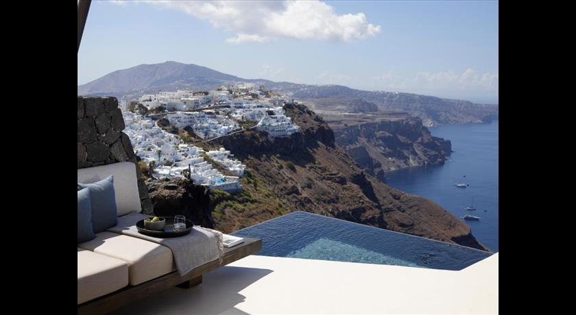 VORA Private Villas, Hotel in Imerovigli, Greece - Santorini View