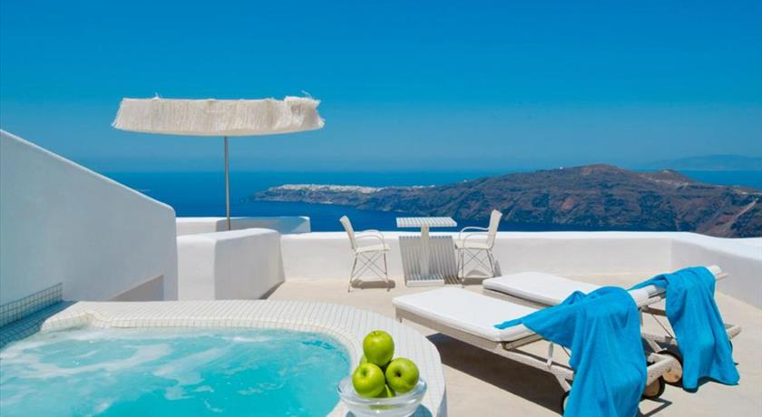 White Santorini Suites & Spa, Hotel in Imerovigli, Greece - Santorini View