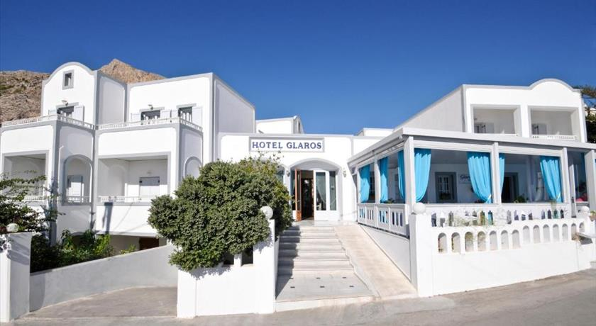 Glaros Hotel, Hotels in Kamari, Greece - Santorini View