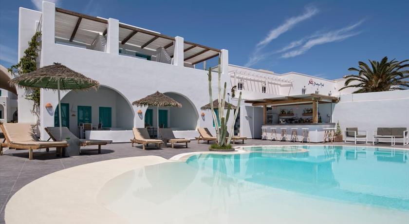 Nissia Apartments, Hotels in Kamari, Greece - Santorini View