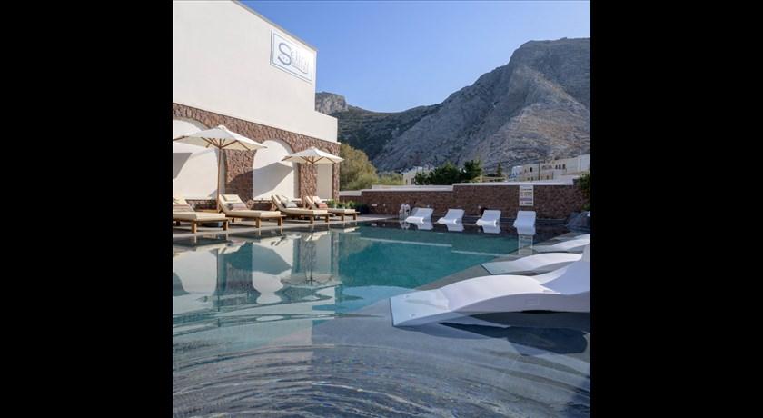Selini Hotel, Hotel in Kamari, Greece - Santorini View