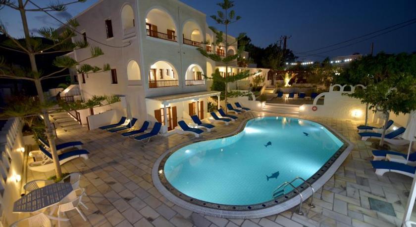 Sunflower Hotel, Hotels in Kamari, Greece - Santorini View