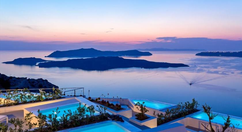 Alti Santorini Suites, Hotel in Megalochori, Greece - Santorini View