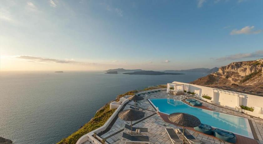 Caldera's Dolphin Suites, Hotels in Megalochori, Greece - Santorini View