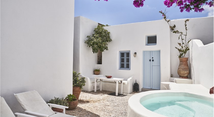 LUXURY VILLA IN MEGALOCHORI SANTORINI WITH JACUZZI in Santorini - 2019 Prices,Photos,Ratings - Book Now