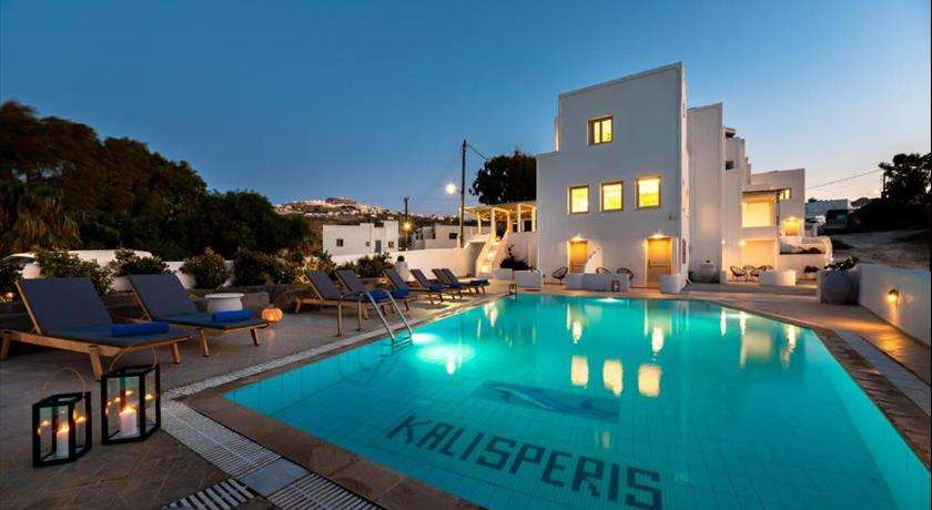 Kalisperis Hotel, Hotels in Messaria, Greece - Santorini View