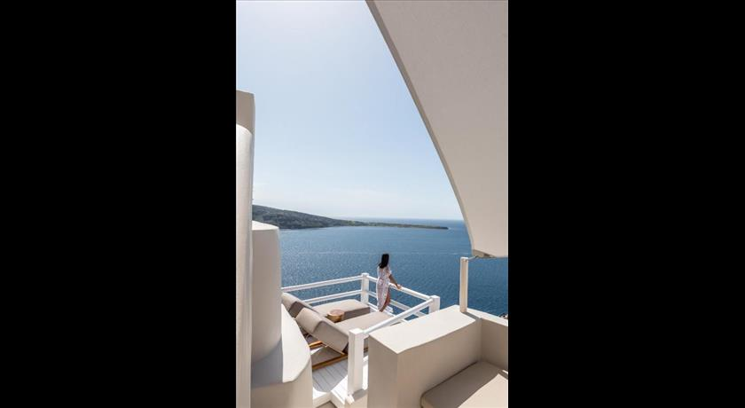 art maisons oia castle hotels in oia greece santorini view