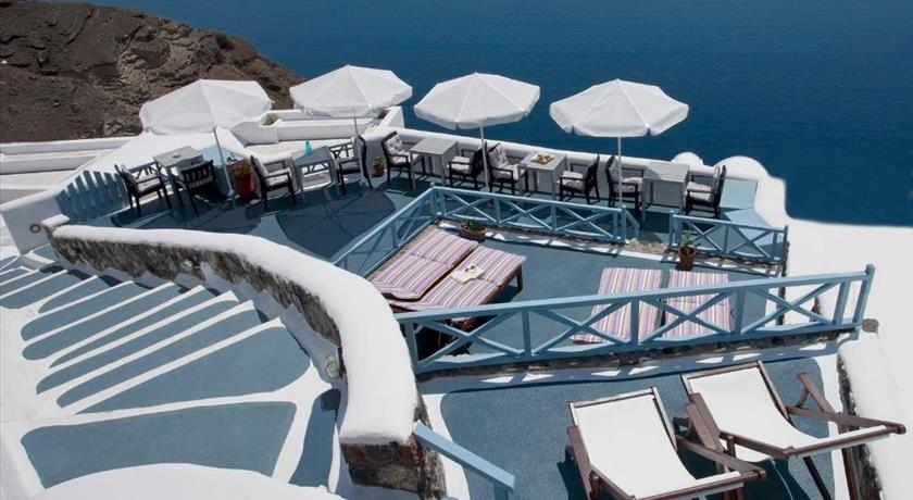 Aspa Villas, Hotel in Oia, Greece - Santorini View