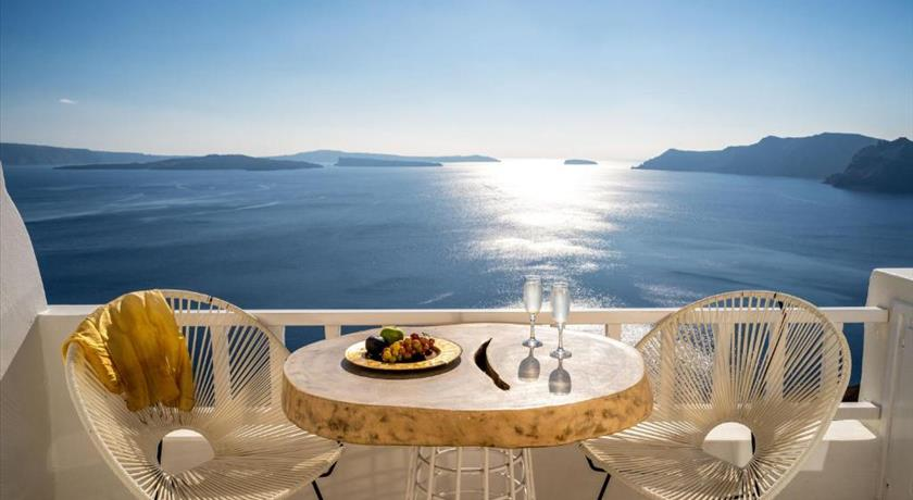 Delfini Villas, Hotels in Oia, Greece - Santorini View