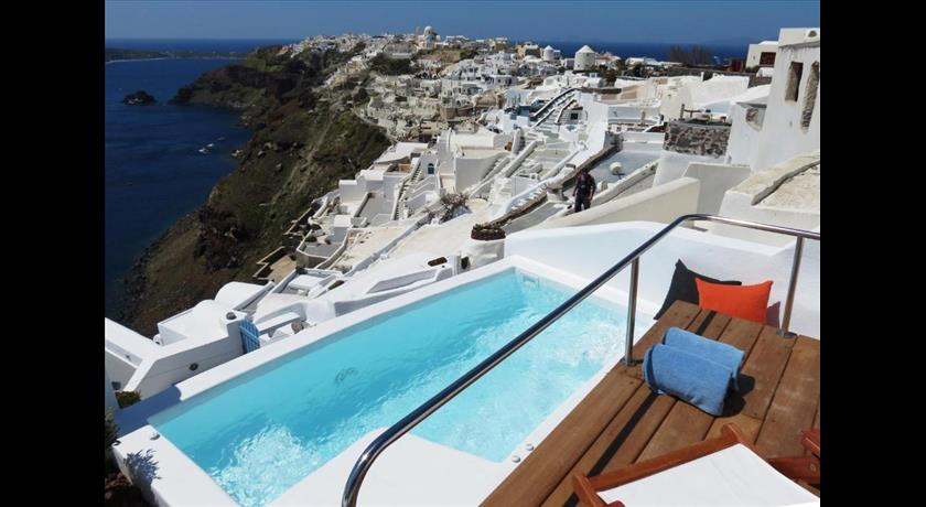 Gabbiano Apartments, Hotels in Oia, Greece - Santorini View
