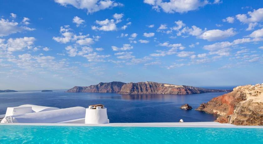 Katikies Hotel, Hotels in Oia, Greece - Santorini View