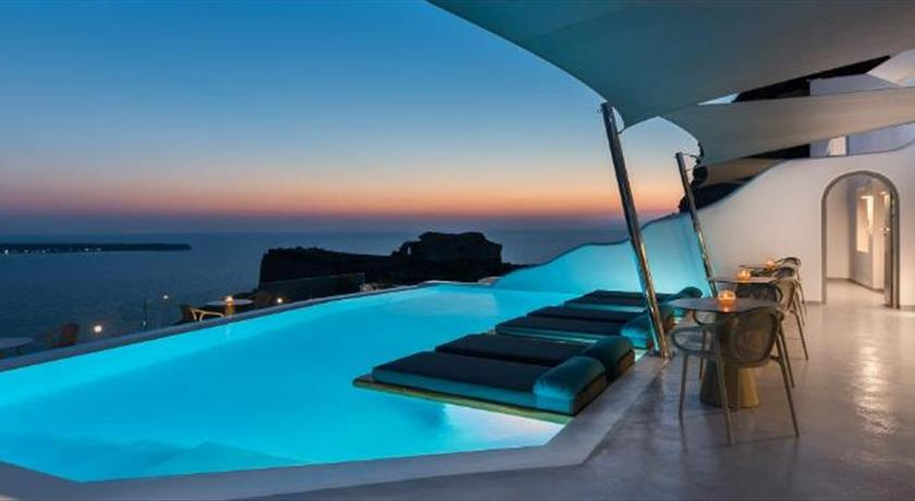 Maregio Suites, Hotels in Oia, Greece - Santorini View