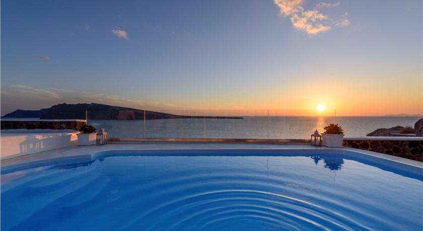 Ode Villa, Hotels in Oia, Greece - Santorini View