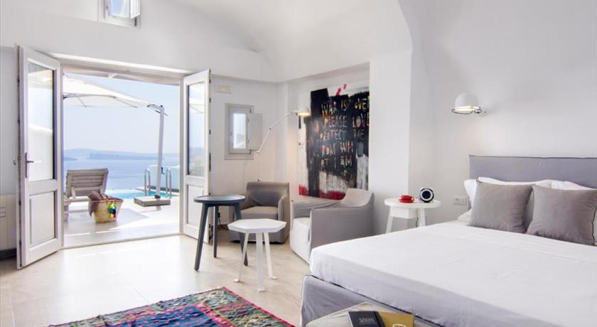 Santorini Secret Suites & Spa, Hotels in Oia Caldera - Santorini View