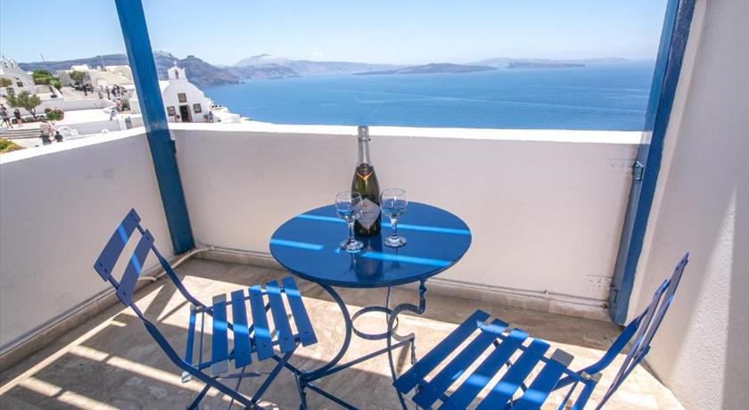 Stelios Rooms, Hotels in Oia, Greece - Santorini View