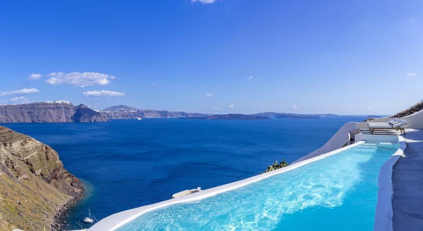 Villa by Canaves Oia, Hotels in Oia Caldera, Aerial Preview - Santorini View