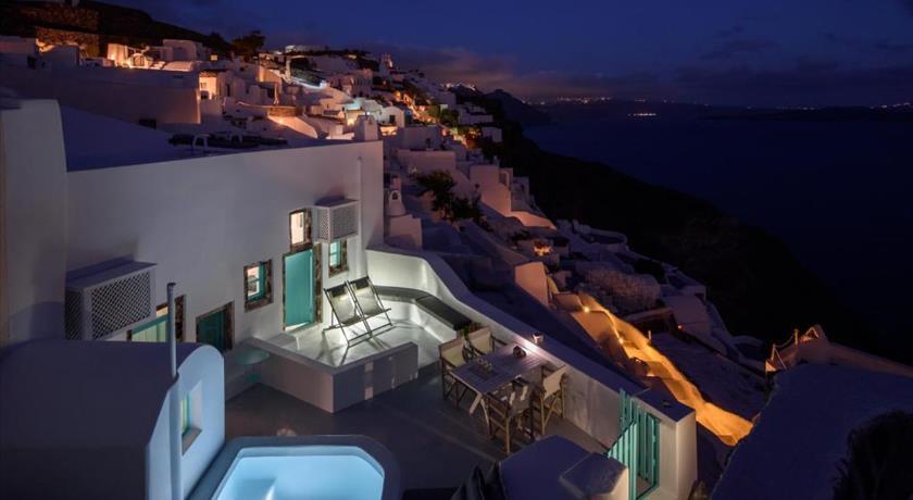 Villa Lela, Hotel in Oia, Greece - Santorini View