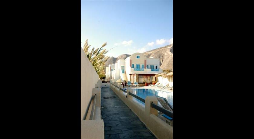 Blue Diamond Bay, Hotel in Perissa, Greece - Santorini View