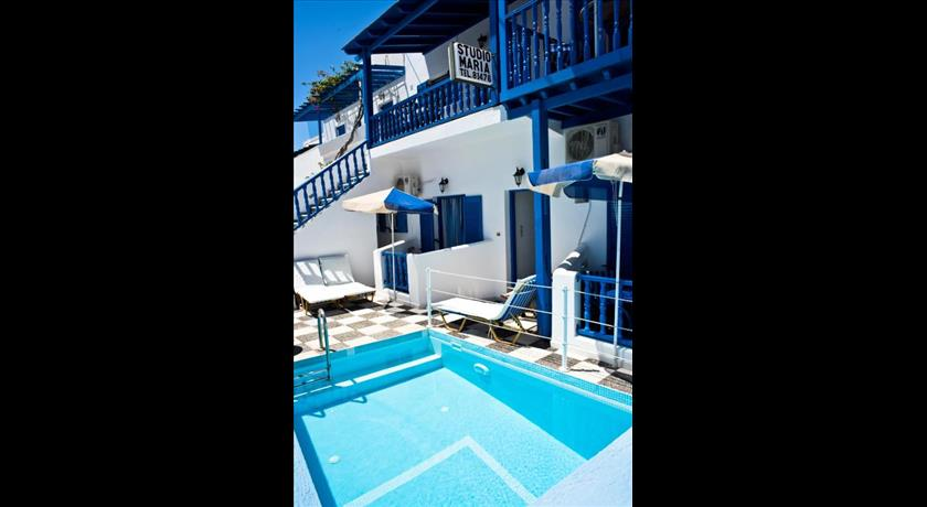 Studio Maria Kafouros, Hotels in Perissa, Greece - Santorini View