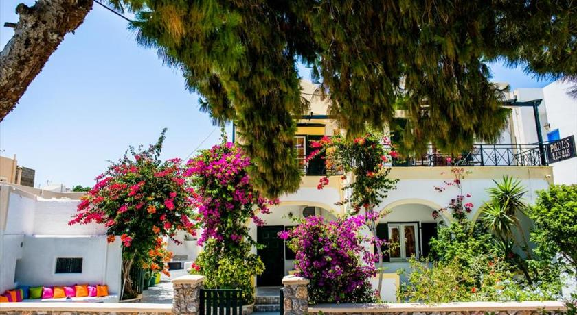 Studio Paul's, Hotel in Perissa, Greece - Santorini View