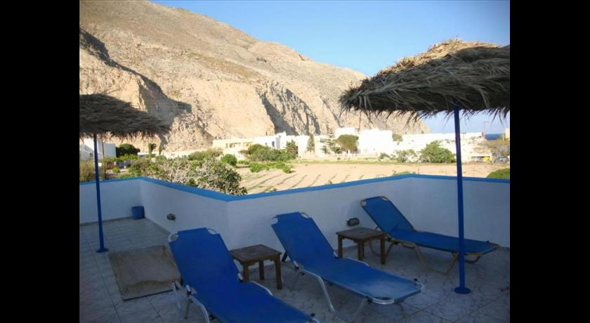 Studios Halaris, Hotels in Perissa, Greece - Santorini View