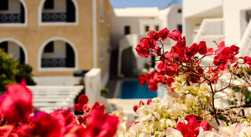 Villa Vergina, Hotels in Perissa, Greece - Santorini View