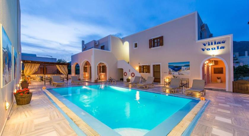 Villa Voula, Hotels in Perissa, Greece - Santorini View