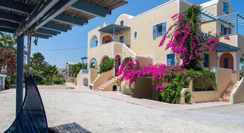 Asterias Mini Coastal Apartments, Hotels in Perivolos, Greece - Santorini View