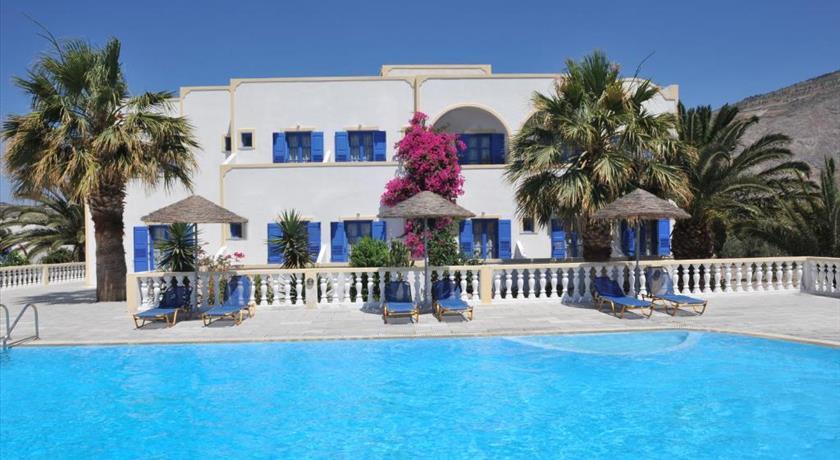 Nikolas Villas Aparthotel, Hotels in Perivolos, Greece - Santorini View