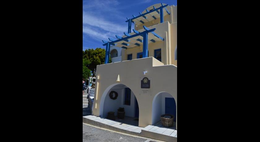 Cultural House, Hotels in Pyrgos, Greece - Santorini View