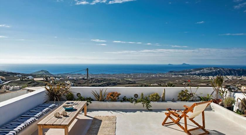 Elicriso Villa, Hotels in Pyrgos, Greece - Santorini View
