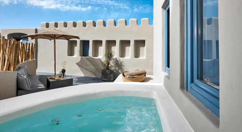 Luna Santorini Suites, Hotels in Pyrgos, Greece - Santorini View