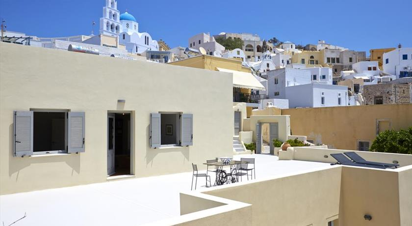 Pyrgos Houses by Voreina, Hotels in Pyrgos, Greece - Santorini View