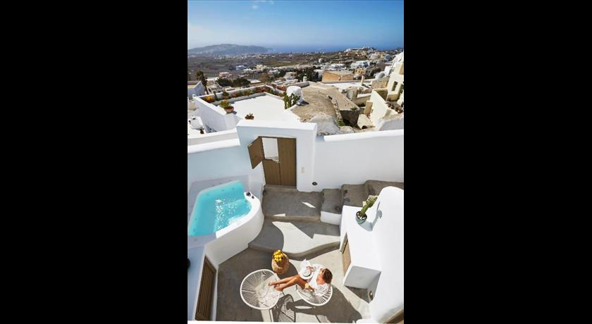 The Small Architect's House, Hotels in Pyrgos, Greece - Santorini View