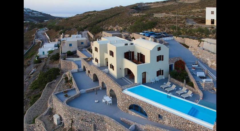 Zatrikion Santorini Villas, Hotels in Pyrgos, Greece - Santorini View