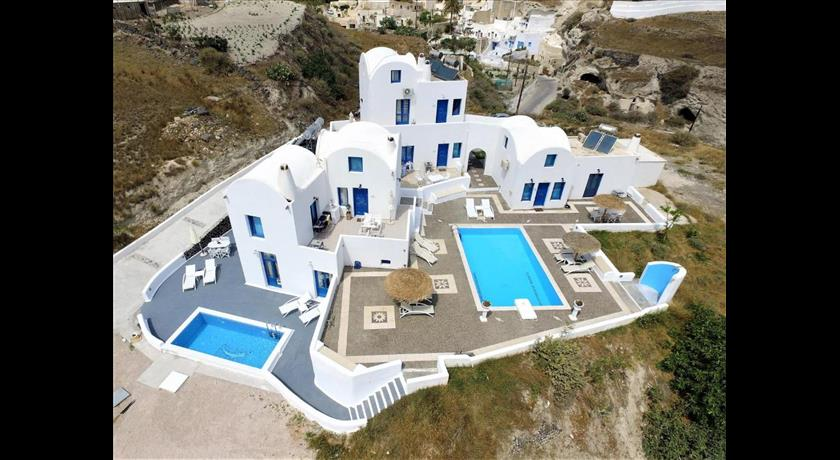 Santorini Traditional Suites, Hotels in Vothonas, Greece - Santorini View