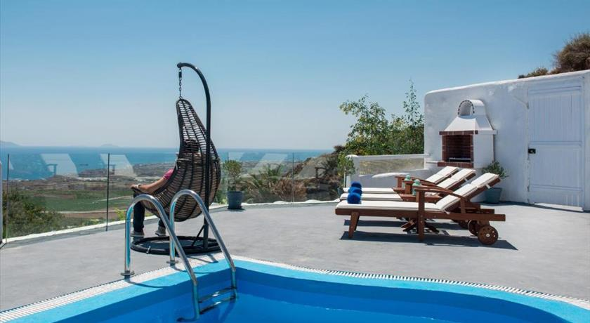 Dream Villa Santorini, Hotels in Vourvoulos, Greece - Santorini View