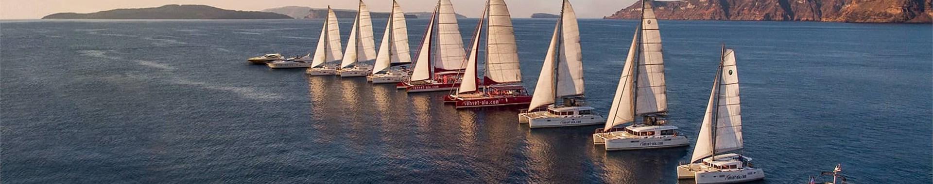 Sunset Oia Sailing Cruises