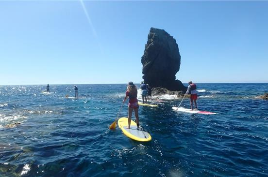 Photo of Stand Up Paddle in Santorini