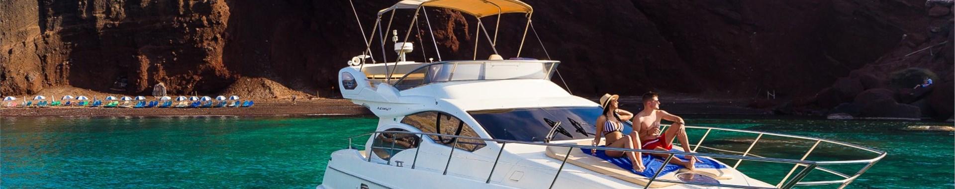Private Boat Tours in Santorini