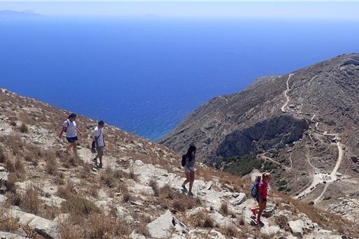 Walking & hiking Tours in Santorini