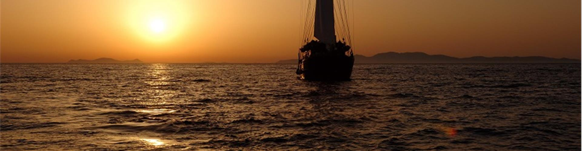 Photo of Sunset Sailing Tour to Volcano and Hot Springs with Dinner