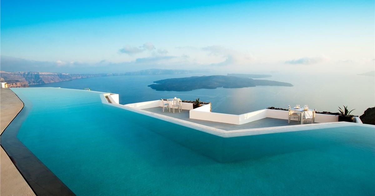 Top 400 Santorini Hotels on the Caldera - Online Booking - Santorini